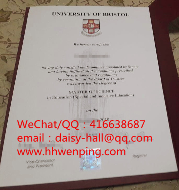 university of bristol degree certificate布里斯托大学毕业证